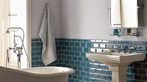 bathroom tile colour ideas home depot free standing sinks blue subway tile bathroom designs blue subway tile backsplash