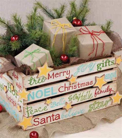 holiday wood storage box ideas wooden storage boxes crates and personalized gifts on