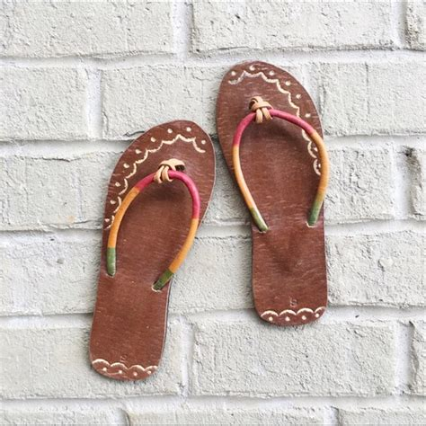 jamaican slippers 2x hp jamaican handmade leather sandals 7 5 from