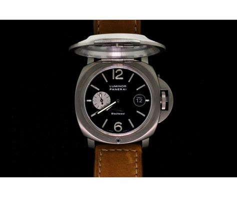 Panerai Luminor Firenze 1860 Brw titanium gents panerai firenze 1860 luminor black