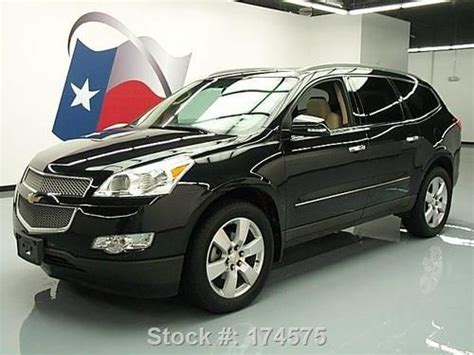 auto body repair training 2011 chevrolet traverse seat position control purchase used 2011 chevy traverse ltz dual sunroof nav dvd 20 s 41k texas direct auto in