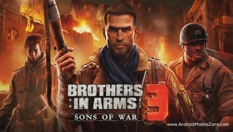 brothers in arms 2 apk free brothers in arms 3 mod apk 1 4 3d free android modded androidmobilezone