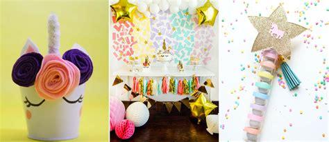 unicorn birthday party ideas   cute unicorn stuff