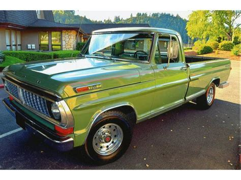 1970 Ford F100 For Sale by 1970 Ford F100 For Sale On Classiccars 4 Available
