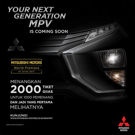 Fresh Teasers Of The Mitsubishi Expander Released In Indonesia