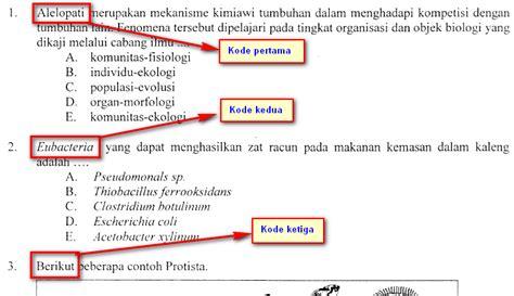 bocoran soal ujian nasional sosiologi 2015 bocoran soal ujian nasional biologi 2015 biohikmah