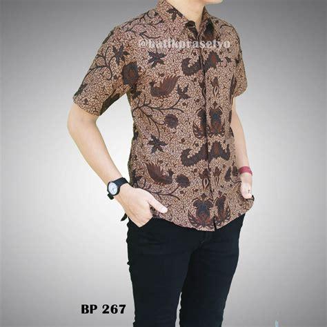 Kain Brukat Kode 267 kemeja batik pria modern bp 267 batik prasetyo