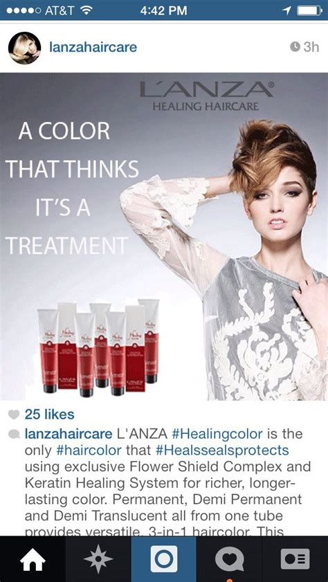 lanza hair color 38 best l anza healing color images on