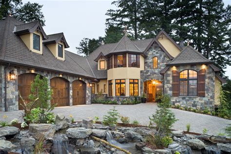luxury dream home plans rivendell manor by bc custom homes represents mascord s