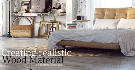 creating realistic wood material part2 3 cg tutorials library