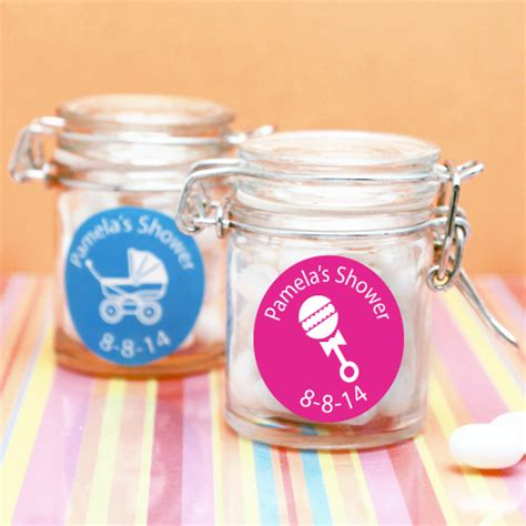 Personalized Baby Shower Decorations by Personalized Baby Shower Favor Jar Personalized Baby