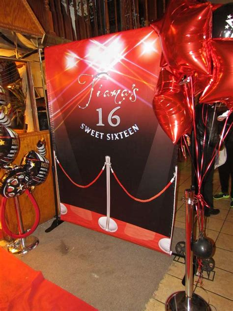 tianas red carpet birthday party ideas photo