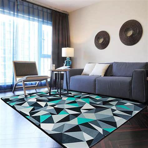 100 home warehouse design center big bear living blue and grey rug 100 150cm modern geometric alfombra for