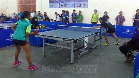 Meja Tenis Meja Malang atlet nasional juga til di bupati malang cup 2 malangvoice