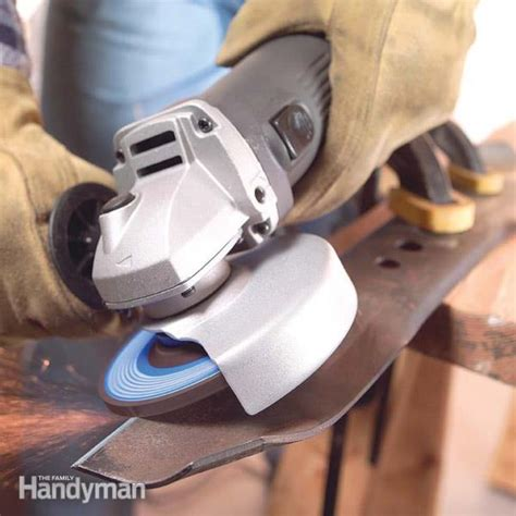 how to use bench grinder how to use an angle grinder the family handyman