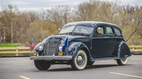 1937 Chrysler Airflow by 1937 Chrysler Airflow Sedan S195 Indy 2017