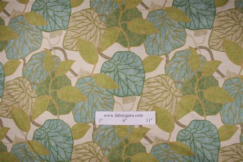 tropical drapery fabric robert allen tropic scene in capri drapery fabric