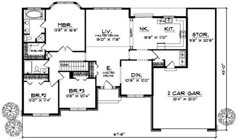 2 Bedroom Luxury House Plans by 2 Bedroom Ranch Style House Plans Luxury Ranch Style House