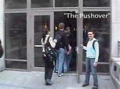 Holding Door by Door Holding Etiquette