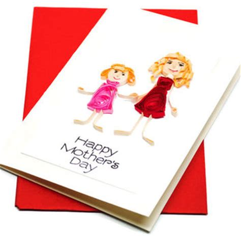 handmade 3d mother s day card personalised personalized personalized christmas card typography from ofthingspretty on