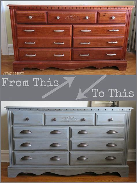 diy chalk paint makeovers hometalk a manly paint makeover for my childhood dresser