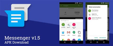 apk messenger messenger 1 5 apk on any android device axeetech