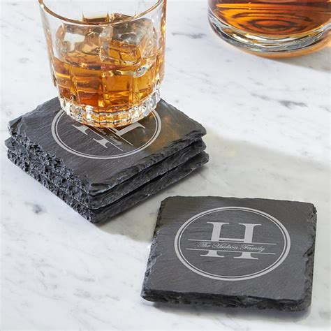 unique drink coasters personalized drink coasters at personal creations