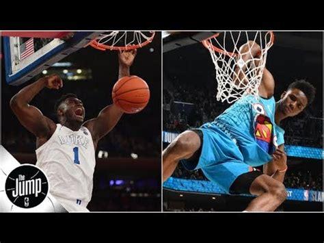nba dunk contest dream lineups