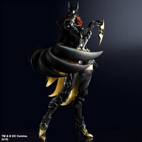 Variant Play Arts new images and details for dc variants batgirl and flash play arts the toyark news