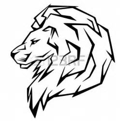 image gallery lion side face drawings