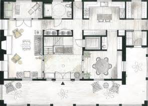 Interior Design Plan by Floor Plan Interior Design Modern House