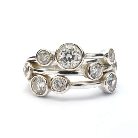 cz silver ring silver jewellery ireland
