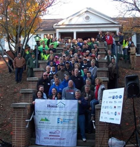 Boma And Homeaid Atlanta Hold Successful Care Day At Covenant House Homeaid Covenant