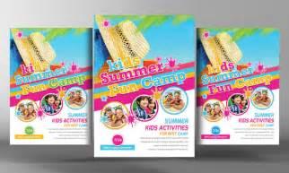 20 summer camp flyer templates