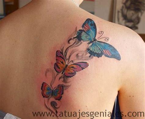 imagenes tatuajes para mujeres en la espalda 80 originales tatuajes de mariposas y su significado