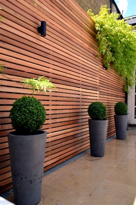 Garden Fence Screening Ideas Screening For Garden Fence Wood Or Plastic Interior Design Ideas Ofdesign