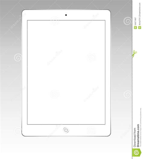 white ipad air editorial photography image 34971997
