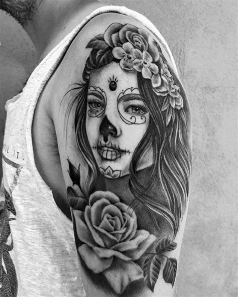 la ink tattoos designs men 50 la catrina designs for mexican ink ideas