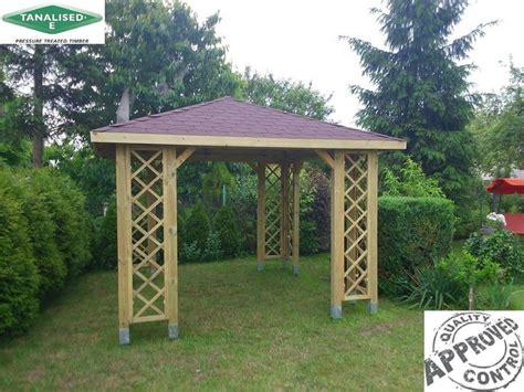 details about 10x10 garden arbor wooden gazebo tub