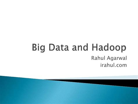 ppt templates for hadoop hadoop architecture ppt