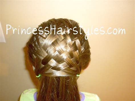Hairstyle Design Youtube | basket weave hairstyle design hair4myprincess youtube