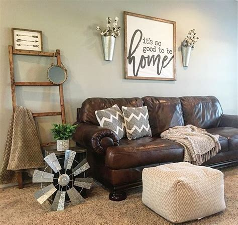 Decor Ideas For Living Room With Brown Leather Furniture - axiom sofa by homestore brown leather 100