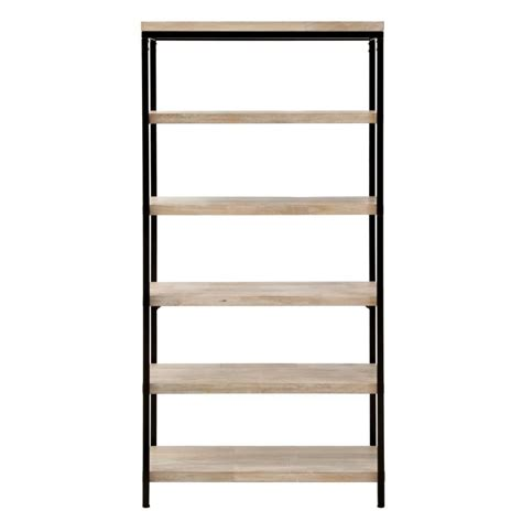 home depot white bookcase home decorators collection anjou white wash open bookcase