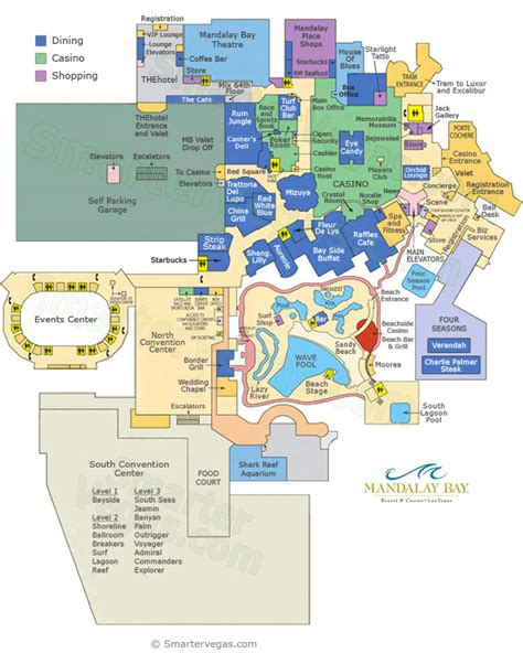 las vegas casino floor plans mandalay bay las vegas map mandalay bay casino floor map