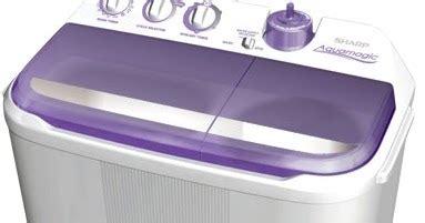 Mesin Cuci Sharp Es T75e H barang elektronik daftar harga terbaru mesin cuci sharp