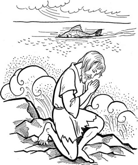 printable coloring pages of jonah and the whale jonah coloring pages free printable coloring pages for kids