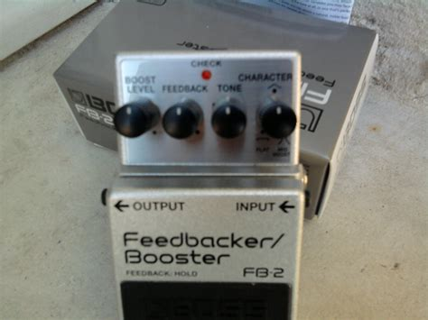 Feedbacker Booster Fb 2 fb 2 feedbacker booster fb 2 feedbacker booster