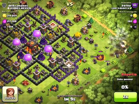 montapuercos clash of clans excelente defensa contra montapuercos clash of clans en