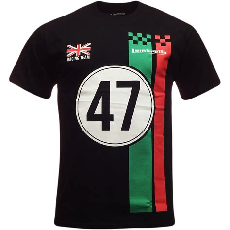 racing shirt mens lambretta t shirt racing team design s m l xl xxl