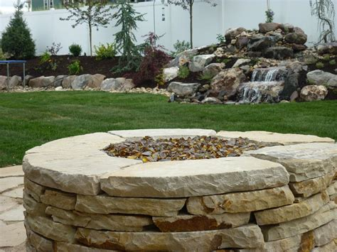 Flagstone Firepit Flagstone Pit Ideas Pit Design Ideas